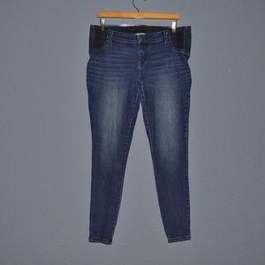 Isabel Maternity by Ingrid & Isabel Jeans - ISABEL Maternity Inset Panel Jeggings Skinny Jeans
